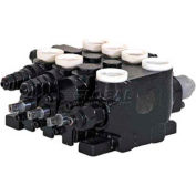 Buyers Sectional Valve, 204PRP, 3 Pos, Detent In 3 Pos, 4-Way, 1 Port Relief, 21 GPM
