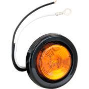 "2"" Round 1 Led Amber Marker Light W/ Grommet & Plug - Min Qty 6"
