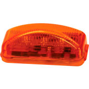 """Buyers 2.5"""" Amber Surface Mount Marker Light With 3 LED - 5622204 - Pkg Qty 10"""