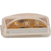 """Buyers 2.5"""" Clear Surface Mount Marker Light With 3 LED - 5622304 - Pkg Qty 10"""