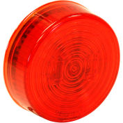 """Buyers 2.5"""" Red Round Marker/Clearance Light With 2 LED - 5622512 - Pkg Qty 10"""