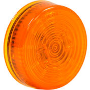 """Buyers 2.5"""" Amber Round Marker/Clearance Light With 2 LED - 5622522 - Pkg Qty 10"""