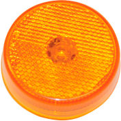 """Buyers 2.5"""" Amber Marker/Clearance Light with Reflex With 4 LED - 5622526 - Pkg Qty 10"""