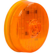 """Buyers 2.5"""" Amber Round Marker/Clearance Light With 7 LED - 5622527 - Pkg Qty 10"""