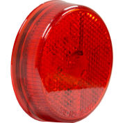 """Buyers 2.5"""" Red Marker Clearance Light with Reflex With 4 LED - 5622551 - Pkg Qty 10"""