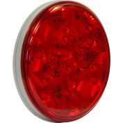 """4"""" Round 10 Led Red Stop-Turn Tail Light - Min Qty 100"""
