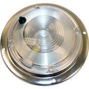 "Buyers 5"" Clear Round Incandescent Interior Dome Light - 5625030"