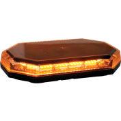 Buyers LED Rectangular Amber Mini Lightbar 10-30VDC - Magnetic 56 LEDs - 8891060