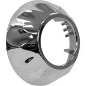 """Buyers Chrome Bezel For 1"""" Round Surface/Recess Mount Strobe Lights - 8892420"""