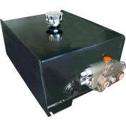 Buyers Hydraulic Reservoir, FMR8S3WPB, 8 Gal. Steel Reservoir, Power Up/Gravity Down w/Power Beyond