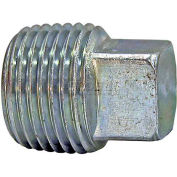 "Buyers Square Head Plug, H3179x12, 3/4"" Male Pipe Thread - Min Qty 43"