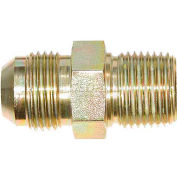 "Buyers Male Connector, H5205x6x6, 3/8"" Tube O.D., 3/8"" Npt - Min Qty 40"