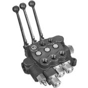 Buyers Directional Control Valve, HV3111AAAG2ED0, 3 Spools, 4 Way Spool Action