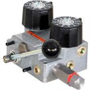 Buyers Hydraulic Spreader Valve, HVC1030, Valve & Console, 10/30 GPM, 155 LPM, 2000 PSI, 140 BAR