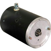 Buyers 12V DC Motor, M3400, Clockwise Rotation, 9 Spline Output Shaft