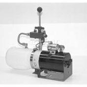 "Buyers Manual 3-Way Valve DC Power Unit, PU5003, 1.36 Qt Poly Reservoir, .250"" NPTF Outlet"