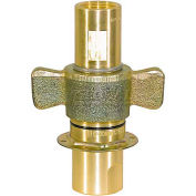 "Buyers Wing Type Quick Detach Hydraulic Coupler, Qdwc161, 1"" Npt Coupler, 45 Flow Gpm - Min Qty 2"
