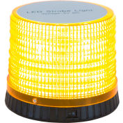 "Buyers Amber Portable 72 LED Beacon Light 5.625"" Diameter x 4.625"" Tall - SL480A"