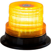 "Buyers Amber 40 LED Beacon Light 5.125"" Diameter x 3.75"" Tall - SL501A"