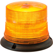 Buyers Magnetic Mount Amber 8 LED Beacon with 10 Foot Cord - SL675ALP