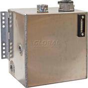 Buyers Hydraulic Reservoir W/Intergral Brackets, SMR25AF25, 25 Gal., Aluminum, W/25 Micron Filter