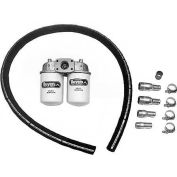 Buyers Wetline Kit, U3LWF4, 3-Line Kit with 25 Micron High Capacity Filter, Side-by-Side