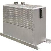 Buyers Upright Hydraulic Reservoir, UR50A, 50.0 Gal., Aluminum