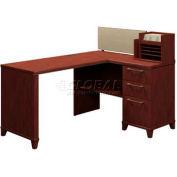 """Enterprise Harvest Cherry 60"""" Corner Desk"""