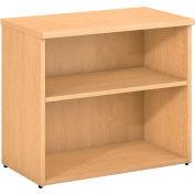 Bush Furniture 2 Shelf Bookcase - Natural Maple - 400 Series