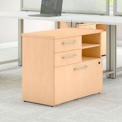 "Bush Furniture 30""W File Cabinet - Natural Maple - 400 Series"