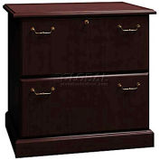 Syndicate Mocha Cherry 2 Drawer Lateral File