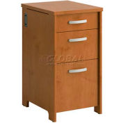 Envoy 3-Drawer Pedestal Natural Cherry