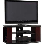 Pimlico TV Stand With Media Storage Espresso / Satin Black