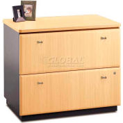 Series A Beech 2 Drawer Lateral File