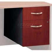 Bush Furniture 3/4 File Cabinet (Unassembled) - Hansen Cherry - Series C