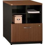 "Bush Furniture Storage Filing Cabinet - 24"" - Walnut - Series A"