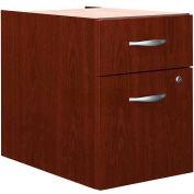 Bush Furniture 3/4 File Cabinet (Unassembled) - Mahogany - Series C