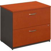 Series C Auburn Maple 2 Drawer Lateral File (Setup)