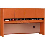 "Series C Auburn Maple 72"" Hutch 4 Door"