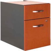 Bush Furniture 3/4 File Cabinet (Assembled) - Auburn Maple - Series C
