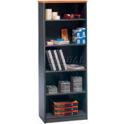 Series A Natural Cherry Bookcase 5-Shelf