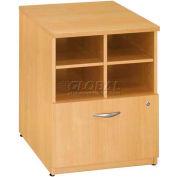 "Bush Furniture Storage Filing Cabinet - 24"" - Light Oak - Series C"