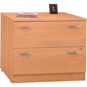 Series C Light Oak 2 Drawer Lateral File