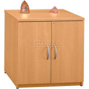 Series C Light Oak Storage Cabinet 30""