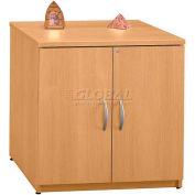 "Bush Furniture Storage Cabinet - 30"" - Light Oak - Series C"