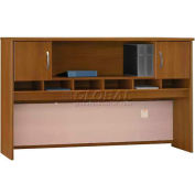 "Series C Warm Oak 72"" Hutch 2 Door"