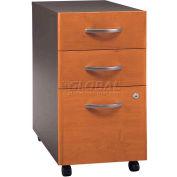 Bush Furniture 3 Drawer File Cabinet (Assembled) - Natural Cherry - Series C