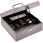 Jumbo Cash Box - Gray - Pkg Qty 6