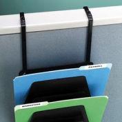 Adjustable Hanger Brackets For Wall Mountable Racks (Set Of 2) - Black - Pkg Qty 12