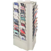 Rotating Display Rack - Platinum